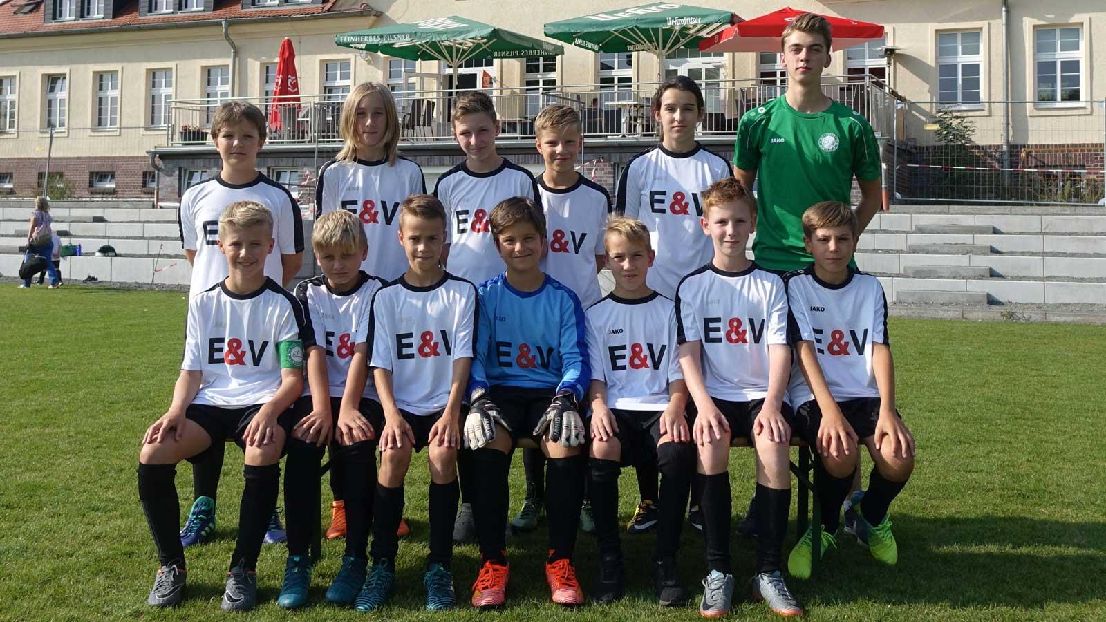 Mannschaftsfoto D3-Jugend